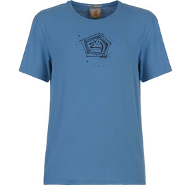 E9 Bug T-Shirt Men cobalt-blue